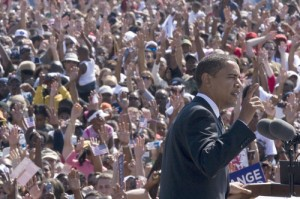 Barack Obama in Newport News Virginia