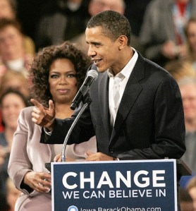 Great Photo of Obama with Oprah